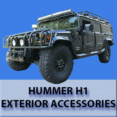 Hummer H1 Exterior Accessories