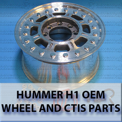 Hummer H1 CTIS, Wheels & Tires